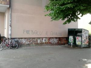 Soligraffitie Neuköln Herrfurth-Weisestrasse Schillerkiez - Anarchafeminist - 20.07